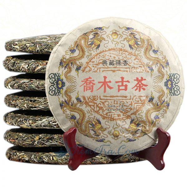 Bánh Trà phổ nhĩ Sống Hoàng Long 357g