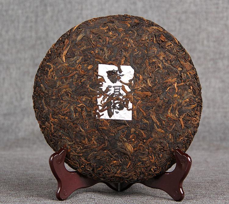 tra puer tea 2 - Trà phổ nhĩ chín cao cấo Puer tea 357g